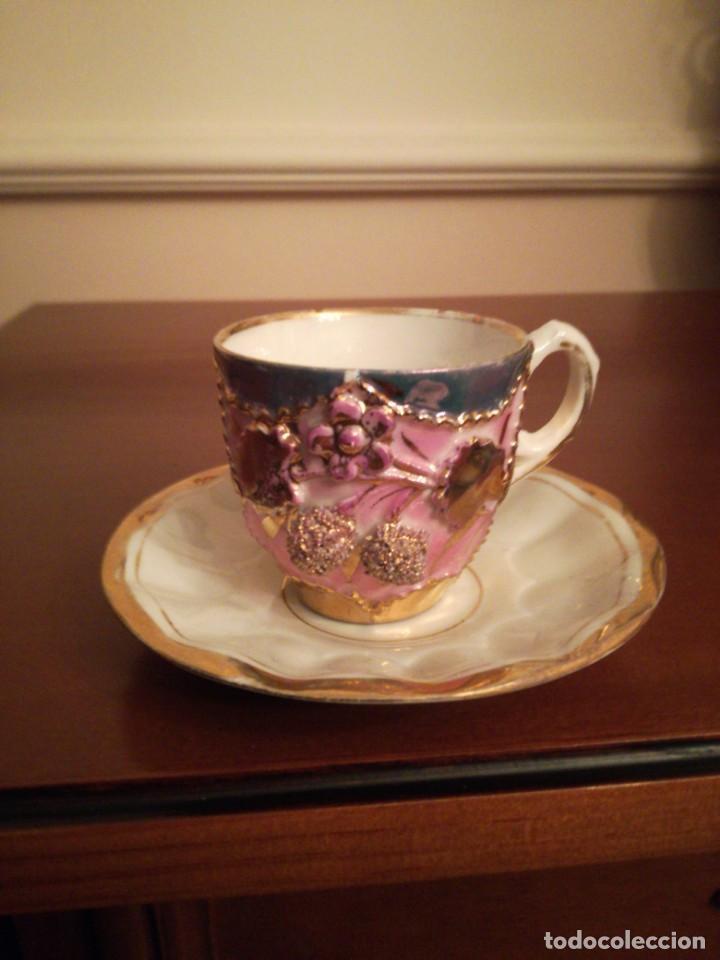 Antigüedades: Antigua taza de porcelana - Foto 4 - 194967812