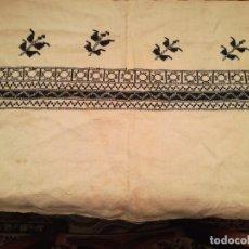 Antigüedades: ANTIGUA MUESTRA DE BORDADO. Lote 194971332