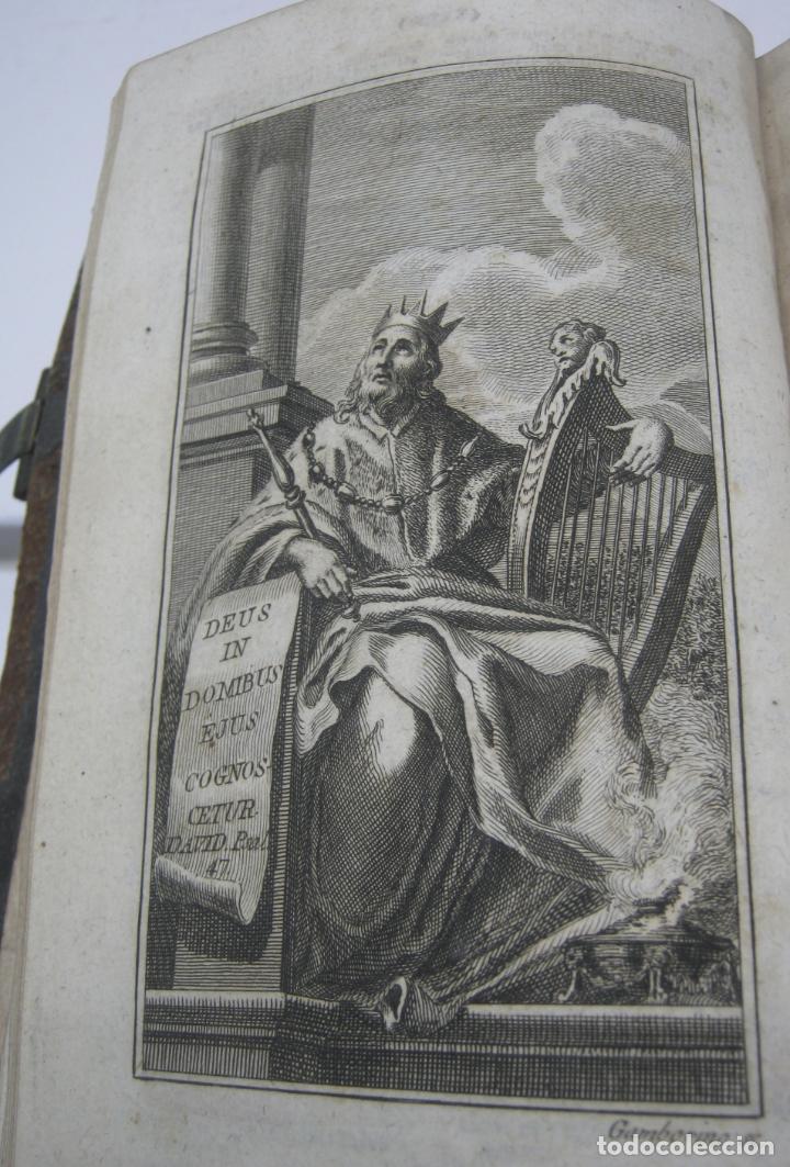 Antigüedades: s. XIX Libro con cierres metalicos . BREVIARIUM ROMANUM . CONCILI TRIDENTINI - Bellos Grabados - Foto 3 - 194971793