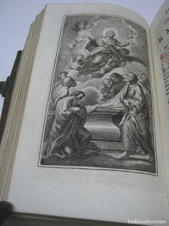 Antigüedades: s. XIX Libro con cierres metalicos . BREVIARIUM ROMANUM . CONCILI TRIDENTINI - Bellos Grabados - Foto 6 - 194971793