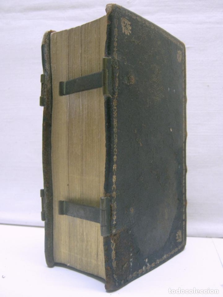 Antigüedades: s. XIX Libro con cierres metalicos . BREVIARIUM ROMANUM . CONCILI TRIDENTINI - Bellos Grabados - Foto 9 - 194971793