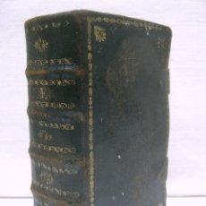Antigüedades: S. XIX LIBRO CON CIERRES METALICOS . BREVIARIUM ROMANUM . CONCILI TRIDENTINI - BELLOS GRABADOS. Lote 194971793