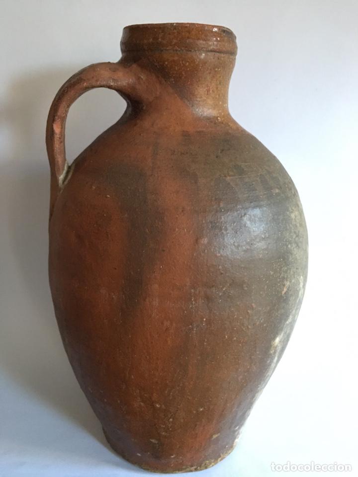 ANTIGUO CÁNTARO DE BARRO POPULAR DE TORO - ZAMORA (Antigüedades - Técnicas - Rústicas - Utensilios del Hogar)