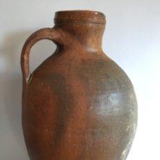 Antigüedades: ANTIGUO CÁNTARO DE BARRO POPULAR DE TORO - ZAMORA. Lote 194982631