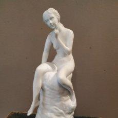 Antigüedades: DIFICIL FIGURA BISCUIT - HAVILAND . Lote 194991293