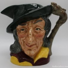 Antigüedades: JARRA DE CERVEZA PORCELANA ROYAL DOULTON PIED PIPER O FLAUTISTA DE HAMELIN LIMITADA 1953 D6403. Lote 195005098