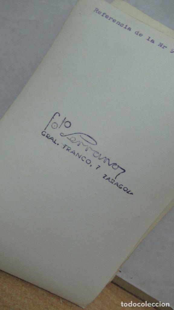 Antigüedades: lote de 35 antiguas fotos de marcos de espejo y mesas de paded. Fabrica de Zaragoza. - Foto 14 - 195019041