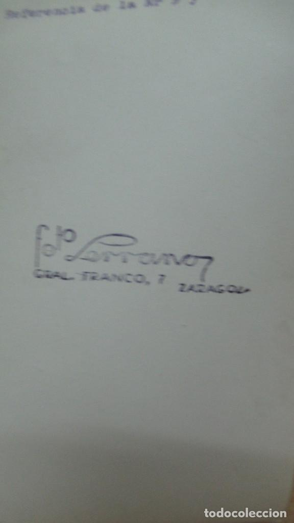 Antigüedades: lote de 35 antiguas fotos de marcos de espejo y mesas de paded. Fabrica de Zaragoza. - Foto 15 - 195019041