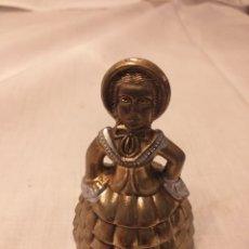 Antigüedades: CAMPANILLA DE BRONCE. Lote 195020411