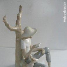 Antigüedades: FIGURA DE LLADRO - NAO - MEDIDAS - PERFECTO ESTADO. Lote 195028577