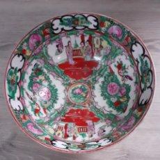 Antigüedades: ENSALADERA PORCELANA CHINA.. Lote 195029638