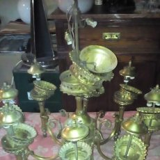 Antigüedades: LAMPARA - ARAÑA - 8 BRAZOS .. Lote 195032922
