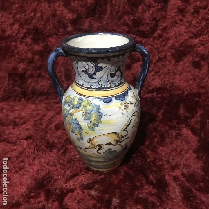 Antigüedades: Jarroncito Talavera Henche - Foto 2 - 195034333