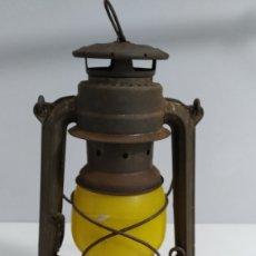 Antigüedades: QUINQUE CANDIL DE PETRÓLEO FEUER HAND 276 BABY SPECIAL - AÑOS 60. Lote 195037653
