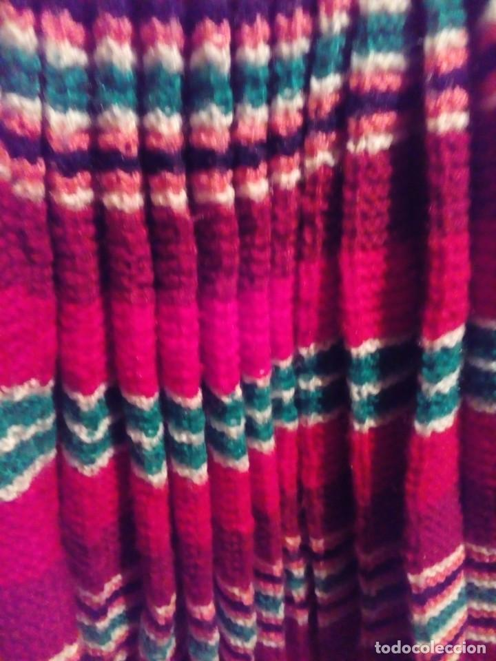 Antigüedades: falda plisada tejida a dos agujas- talla 36 - Foto 2 - 195046322