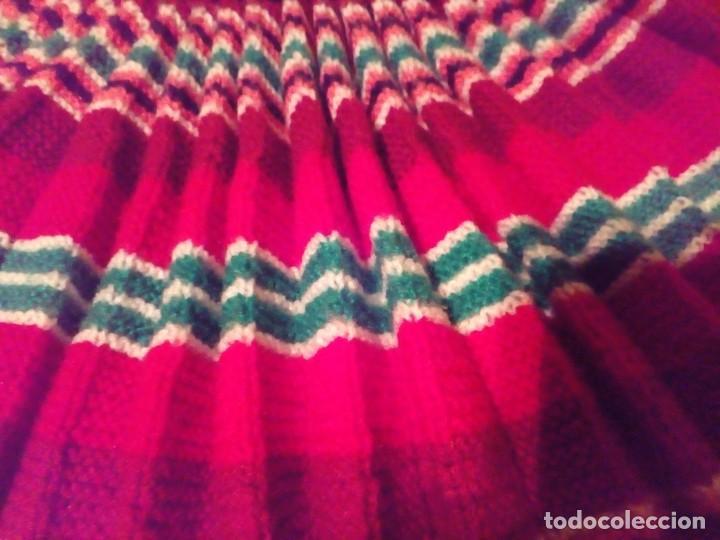 Antigüedades: falda plisada tejida a dos agujas- talla 36 - Foto 5 - 195046322
