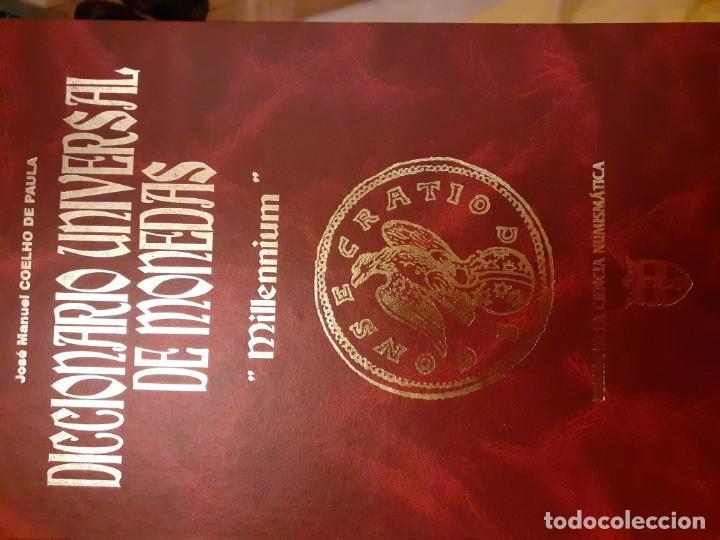 DICCIONARO UNIVERSAL DE MONEDAS SR J. M. COELHO (Antigüedades - Varios)