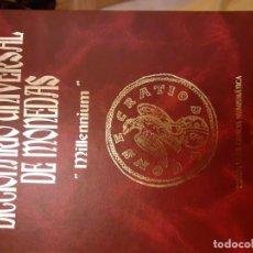 Antigüedades: DICCIONARO UNIVERSAL DE MONEDAS SR J. M. COELHO. Lote 195046547