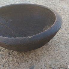 Antigüedades: CUENCO ANTIGUO DE MADERA.. Lote 195046587