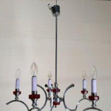 Antigüedades: LAMPARA DE TECHO VINTAGE. Lote 195049391
