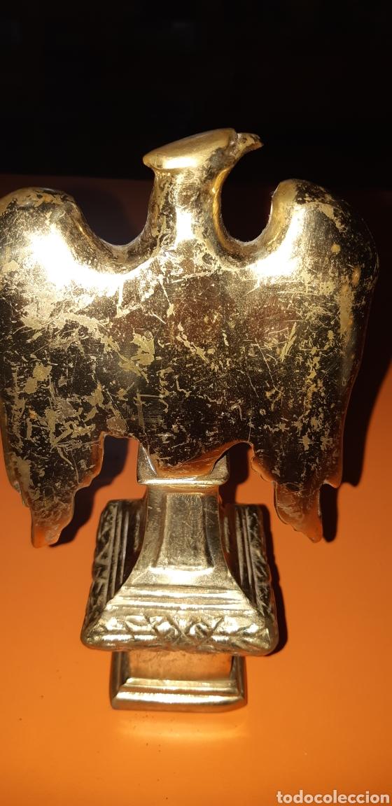 Antigüedades: 2 águilas imperiales, bronce años 60 - Foto 4 - 195051322