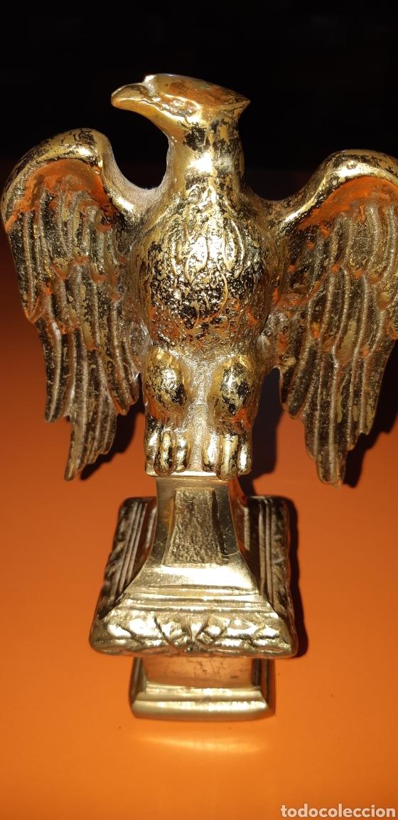 Antigüedades: 2 águilas imperiales, bronce años 60 - Foto 8 - 195051322
