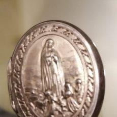Antigüedades: CAJA, CAJITA NUESTRA SEÑORA DE FATIMA PARA MINI ROSARIO. Lote 195053936