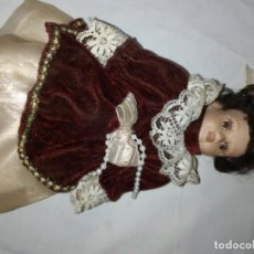 Antigüedades: MUÑECA DE PORCELANA. Lote 195055893