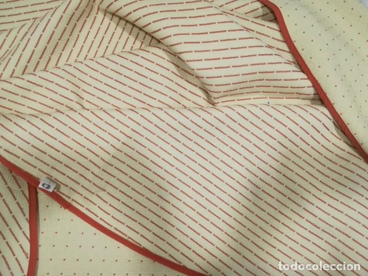 Antigüedades: Falda de mesa camilla reversible - Foto 2 - 195056193