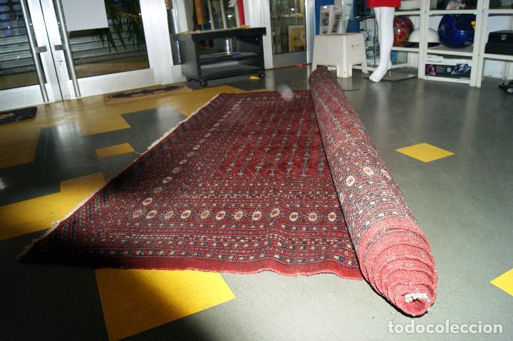 Antigüedades: GRAN ALFOMBRA PERSA medidas 275x180 cm. buen estado - Foto 13 - 195073466