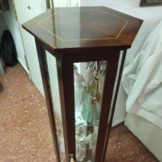 Antigüedades: VITRINA DE PIE. Lote 195081072
