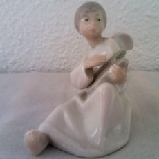 Antigüedades: FIGURA PORCELANA ANGEL NAO LLADRÓ. Lote 195088178