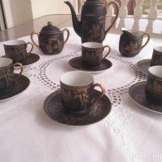 Antigüedades: DINASTÍA HAN, JUEGO DE CAFÉ. Lote 195095902