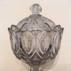 Antigüedades: BOMBONERA CRISTAL. Lote 195111482