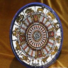 Antigüedades: PLATO DE CERÁMICA,DECORACIÓN DEL ZOODIACO.. Lote 195114135