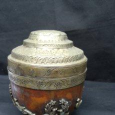 Antigüedades: ANTIGUO TIBOR TIBETANO DE COBRE. Lote 195132360