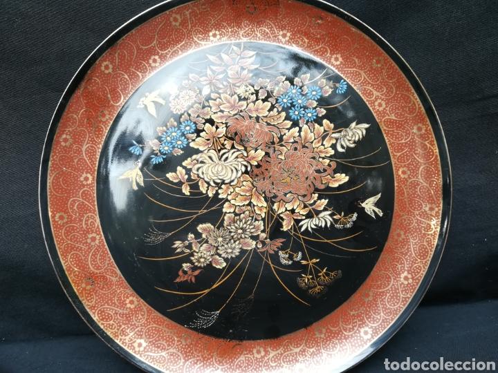 VIEJO PLATO DE PORCELANA CHINA SATSUMA (Antigüedades - Porcelanas y Cerámicas - China)