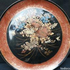 Antigüedades: VIEJO PLATO DE PORCELANA CHINA SATSUMA. Lote 195141455