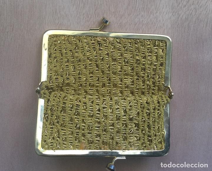 Antigüedades: Monedero dorado - Foto 2 - 195142303