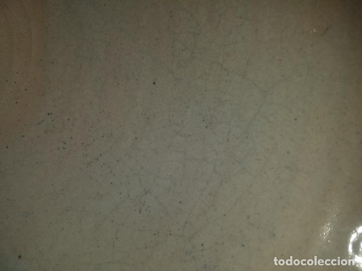 Antigüedades: LEBRILLO DE CERÁMICA DE TRIANA. CON EXTRAÑA DECORACION - Foto 10 - 195144683