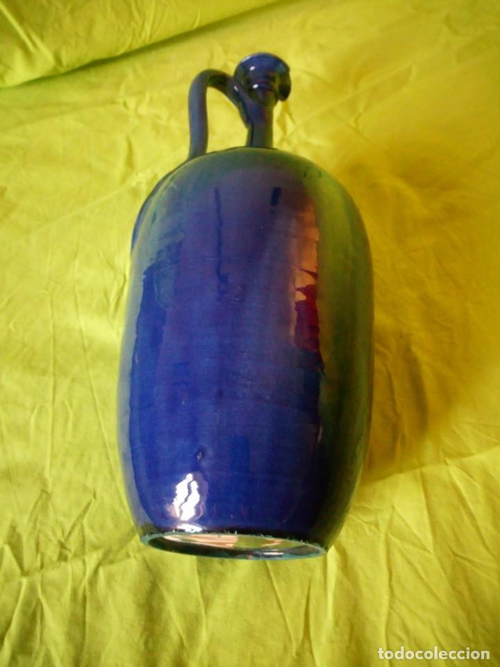 Antigüedades: jarron de alfar Gongora - Ubeda.ceramica esmaltada - Foto 10 - 195145317