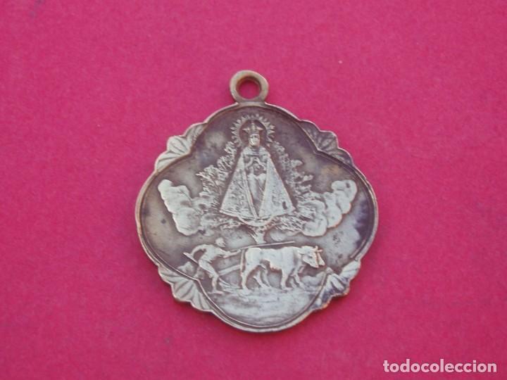 MEDALLA SIGLO XIX VIRGEN DE LINDÓN PATRONA DE CASTELLÓN DE LA PLANA. (Antigüedades - Religiosas - Medallas Antiguas)