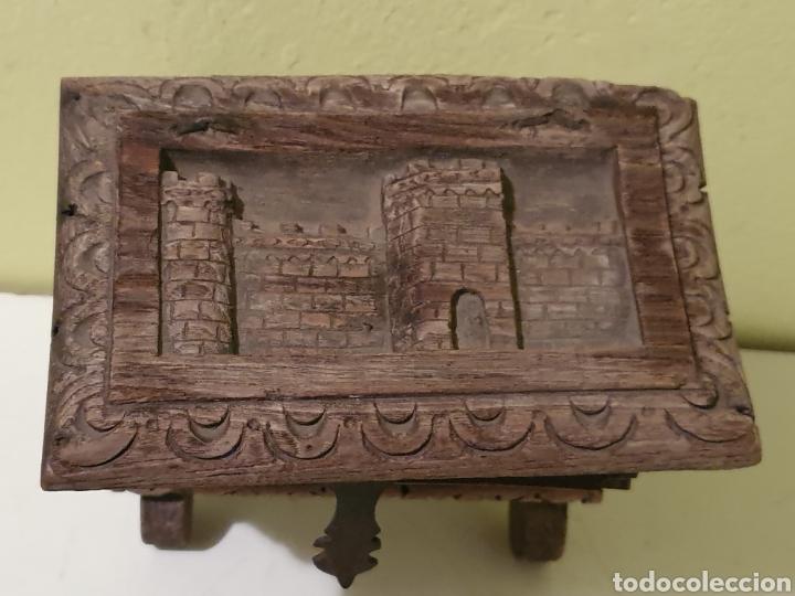 Antigüedades: ARCA COFRE JOYERO PARA RESTAURAR S.XVII - Foto 6 - 195146553