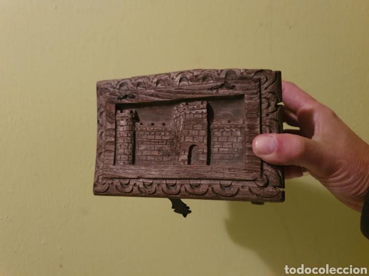 Antigüedades: ARCA COFRE JOYERO PARA RESTAURAR S.XVII - Foto 9 - 195146553