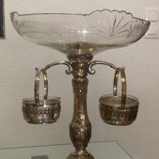 Antigüedades: ESPECTACULAR FRUTERO CON SUS LAVAFRUTAS. Lote 195149836