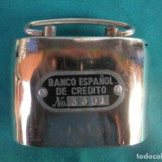 Antigüedades: HUCHA BANCO ESPAÑOL DE CRÉDITO.. Lote 195158933