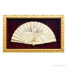 Antigüedades: ABANICO SIGLO XIX.. Lote 195165498