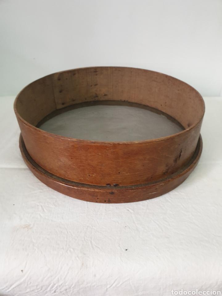 Antigüedades: Cedazo de madera - Foto 2 - 195170373