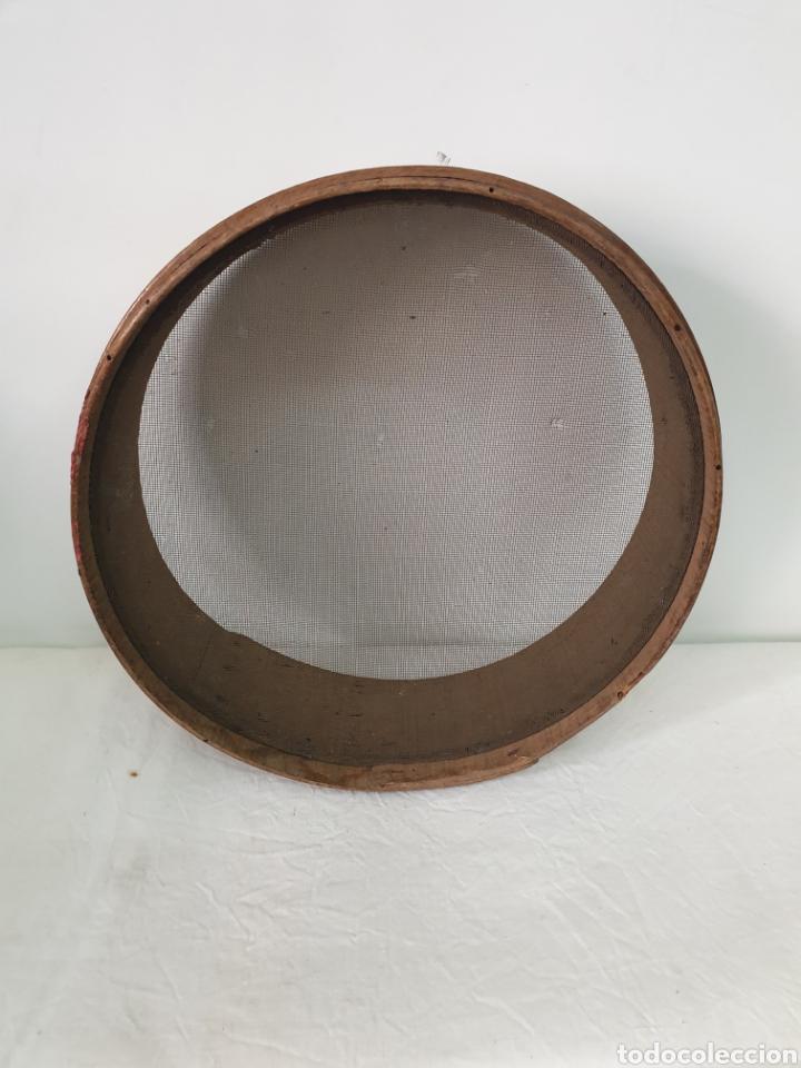 Antigüedades: Cedazo de madera - Foto 3 - 195170373