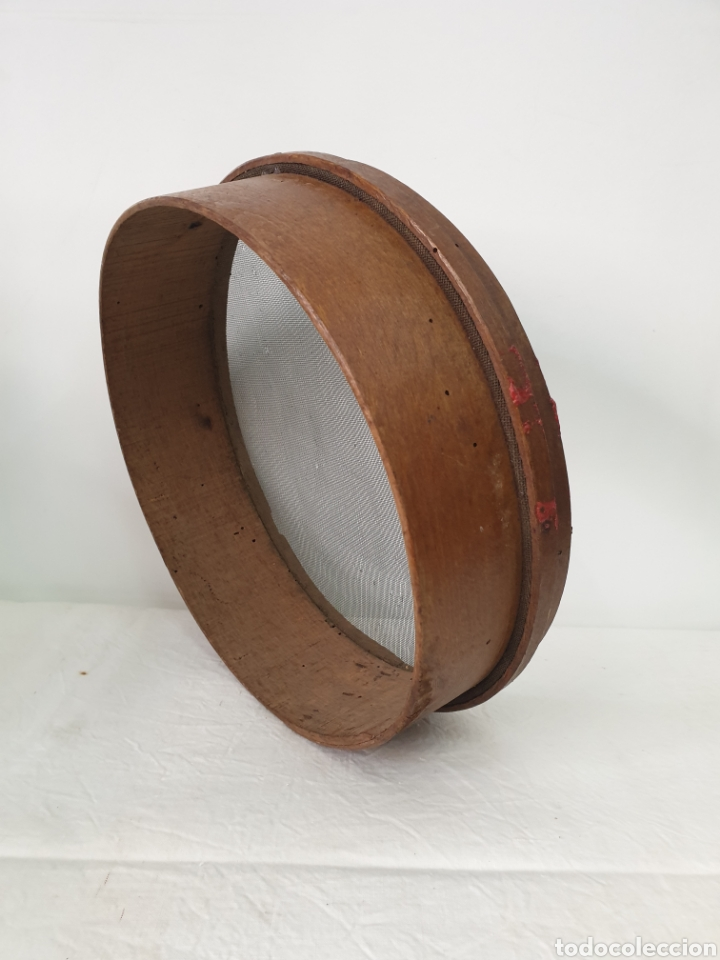 Antigüedades: Cedazo de madera - Foto 4 - 195170373